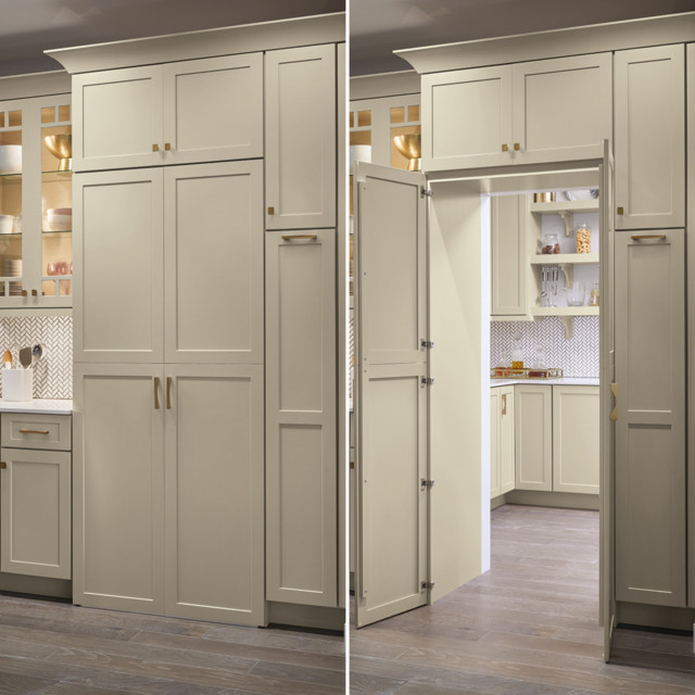 Kemper Cabinets: Pantry Walk Through Cabinet ...
