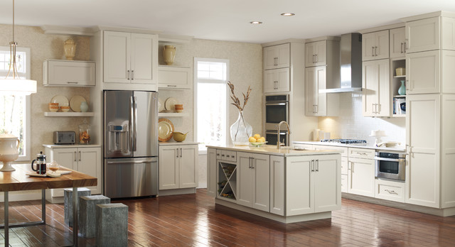 Kemper Cabinets Traditional Transitional Kitchen New