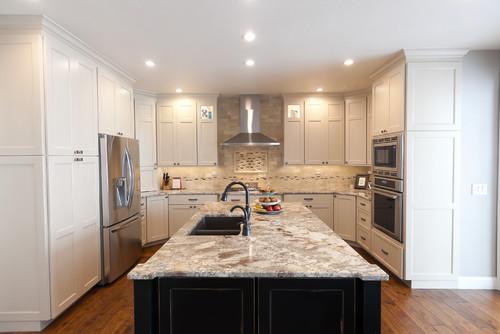 White Shaker Kitchen Cabinets White Countertops