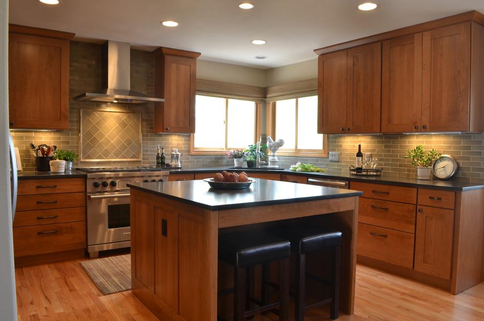 Ken Caryl Valley Kitchen Remodel - Transitional - Kitchen ...