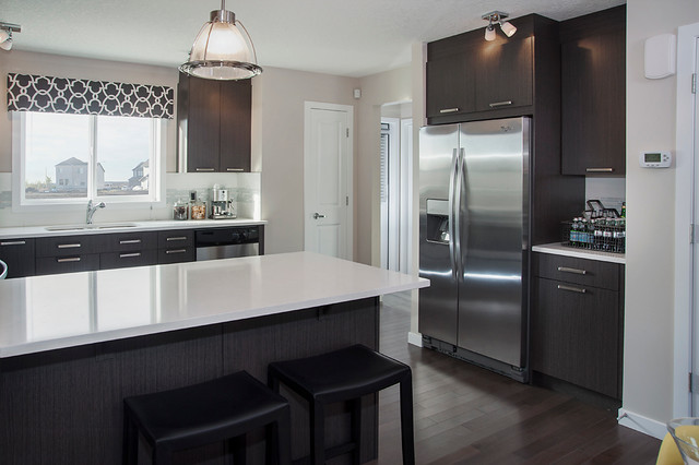Kendal (Urban) Show Home - Copperfield contemporary-kitchen