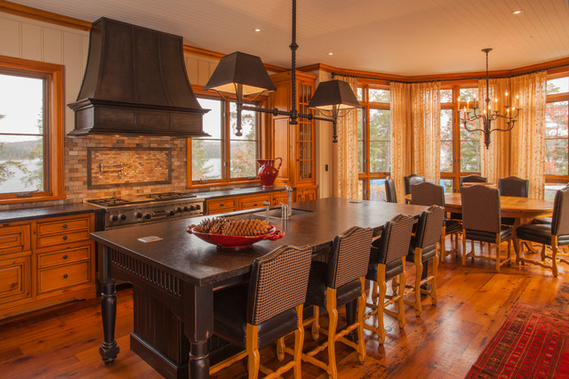 Kenesis lake house traditional kitchen toronto by for Lake house kitchen designs