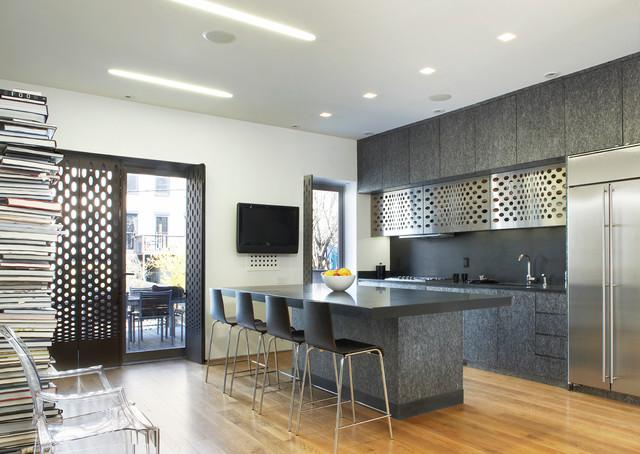 Kenig Residence contemporary-kitchen