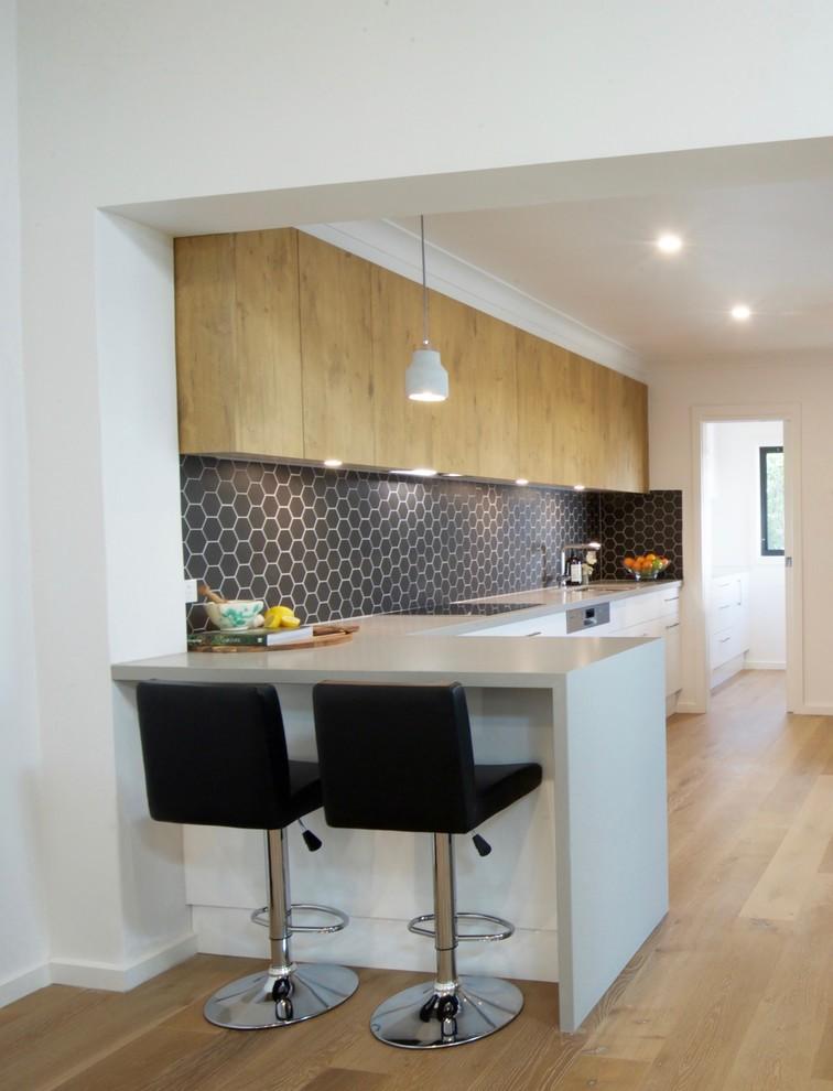 Kensington Kitchen Amp Study Modern Kitchen Melbourne