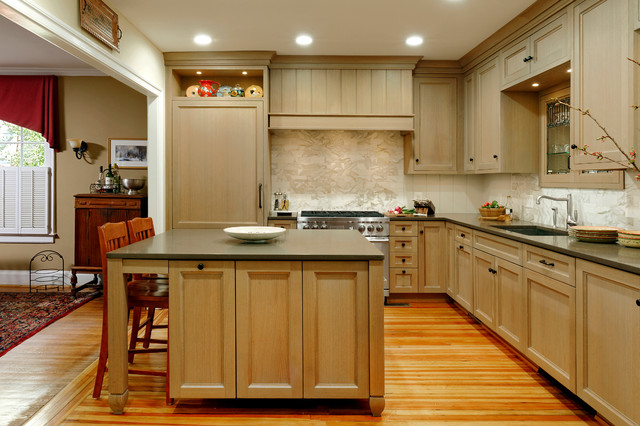 Kensington maryland craftsman kitchen design with belgian inspiration craftsman kitchen - Kitchen designers in maryland ...