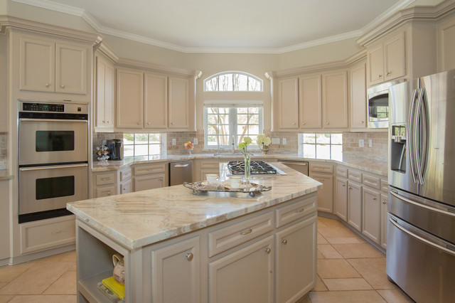 Kent House Traditional Kitchen Houston By Maison