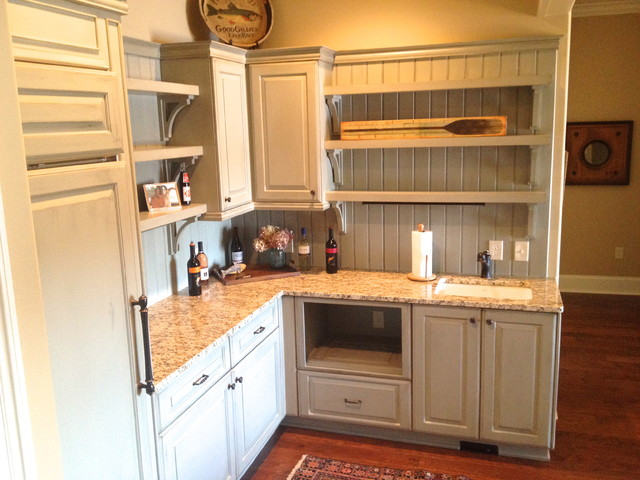 Keowee Shores Custom Home eclectic-kitchen