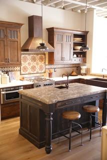 Kepler Design Showroom Traditional Kitchen Other
