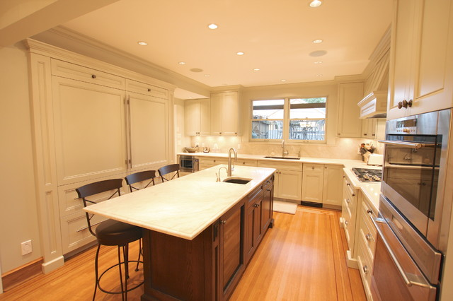 Kerrisdale House traditional-kitchen
