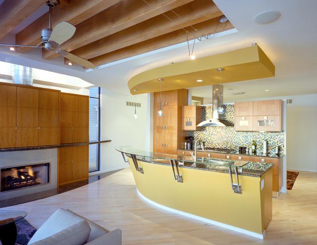 kobylarek residence contemporary-kitchen