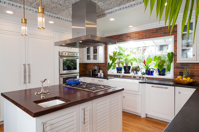 Key West Inspired Kitchen Beach Style Kitchen Los