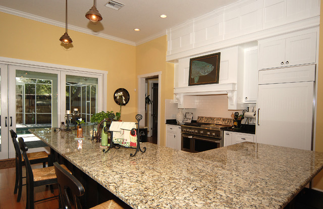 Key West Style New Home Kitchen