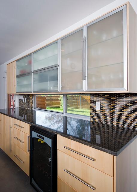 Blackjack House contemporary-kitchen