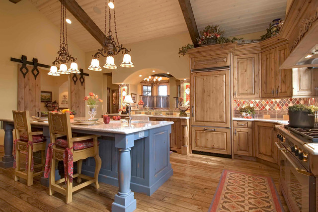 Keystone Ranch Home Rustic Kitchen Other By Markel Design Group