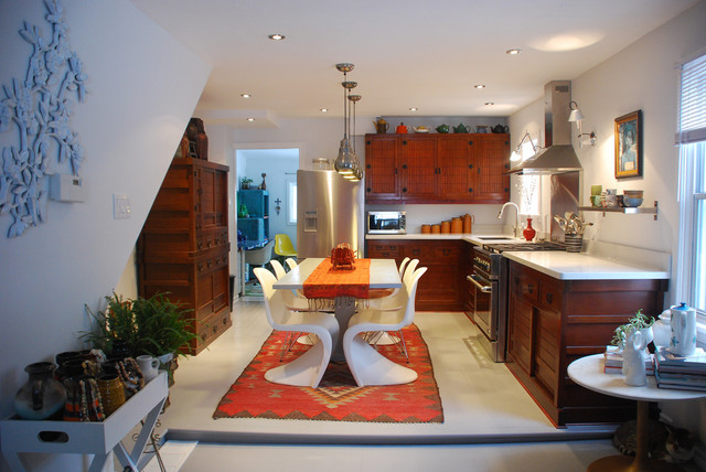eclectic kitchen by Desire to Inspire