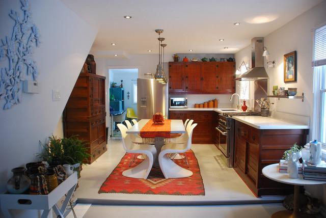 Kim Johnson-  renovated kitchen