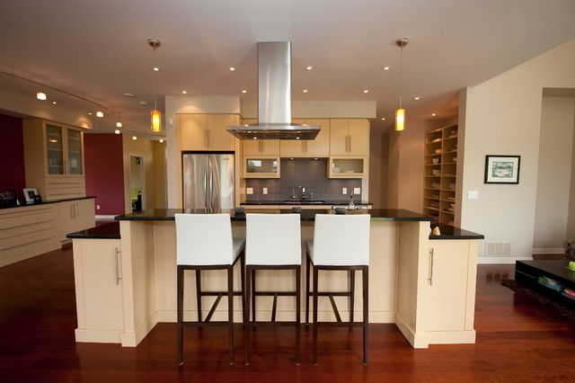 King Arthur House contemporary-kitchen