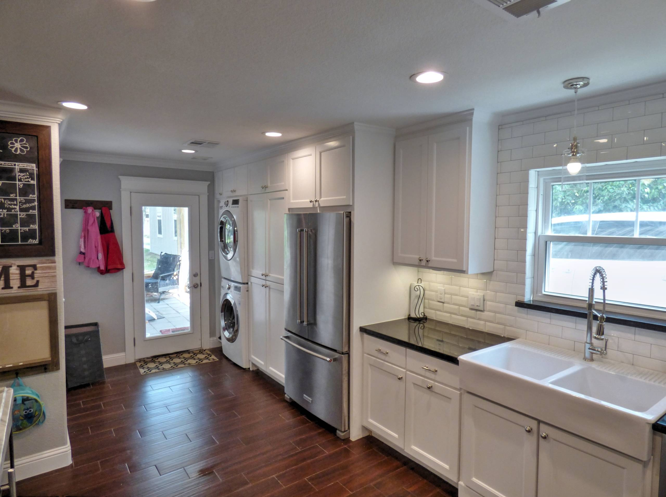 King Kitchen Pantry and Backdoor