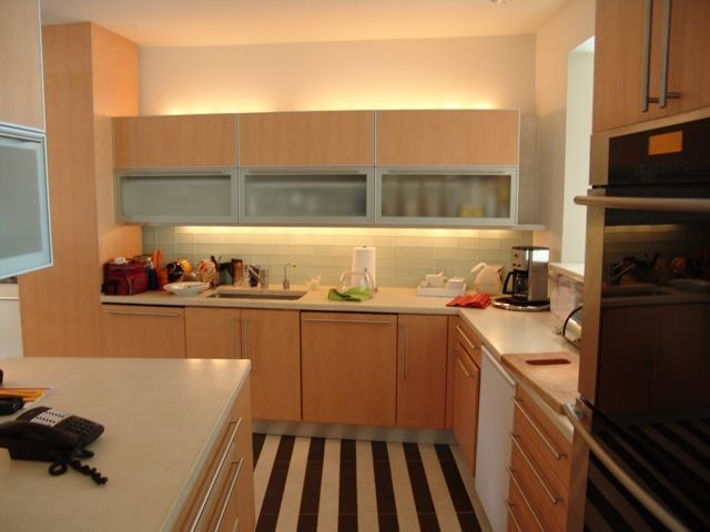 King Place contemporary-kitchen