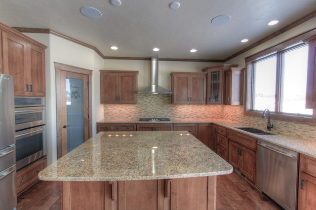 King Residence traditional-kitchen