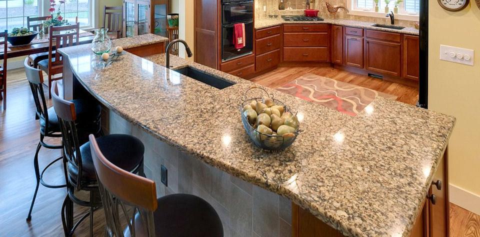 Elegant kitchen photo in Boston