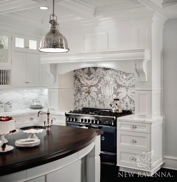 Kingston lacy stone mosaic contemporary kitchen for Kitchen design kingston