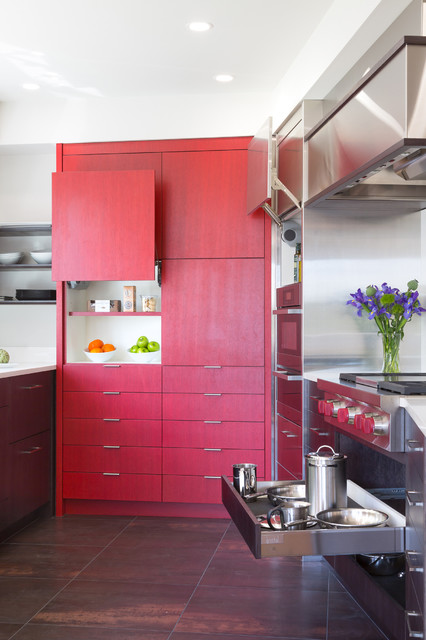 Kirkland Condo Remodel- Phase 2- Kitchen contemporary-kitchen