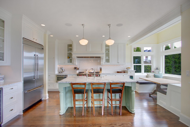 Kirkland Tanditional traditional kitchen