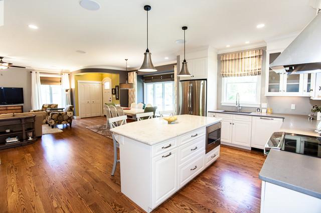Kirkwood Eco Friendly House Modern Kitchen St Louis
