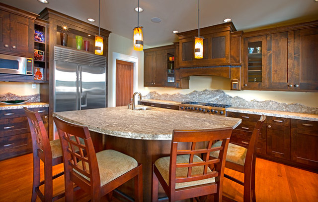 Kiro Concept House 1 traditional-kitchen