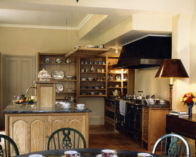 Kirtling Tower Limed Oak Kitchen  Traditional  Kitchen  other metro