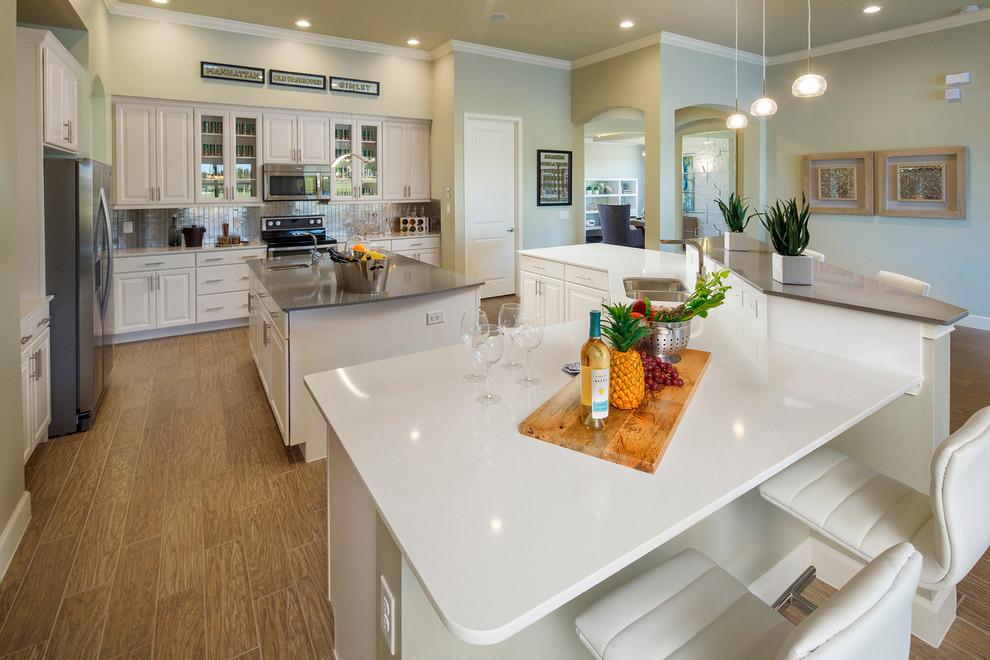 Kissimmee Fl Bellalago Community Florenzo New Home Model Interior Modern Kitchen Orlando By Jared Weggeland