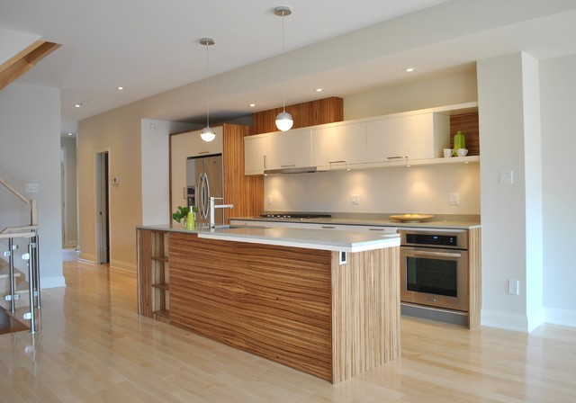 Wood Veneer Kitchen Cabinets - An Ideabook By Interwood