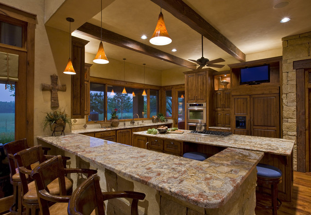 Kitchen 4 from Living Area traditional-kitchen