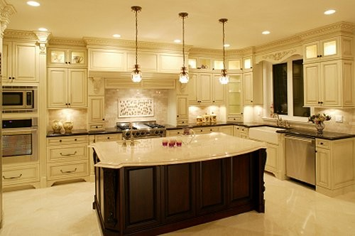 Kitchen 4 Recessed Lighting Traditional Los