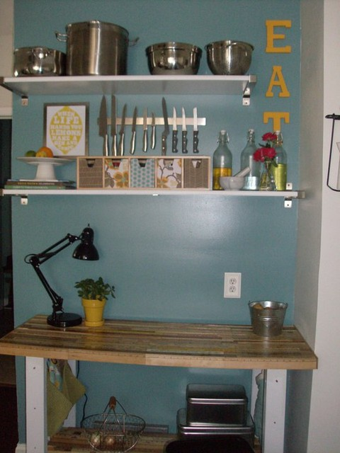 Kitchen Accent Wall eclectic-kitchen