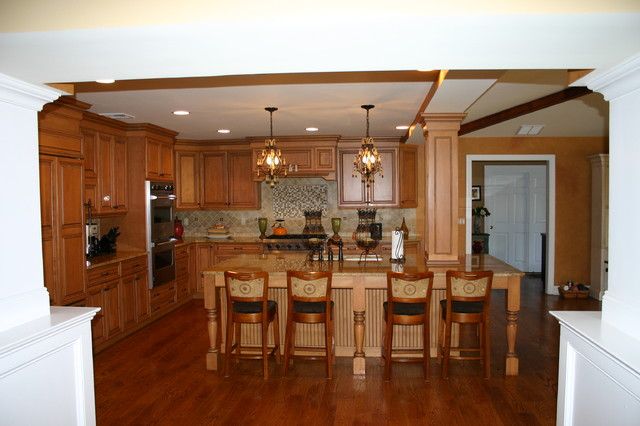 Kitchen Addition and Alteration traditional-kitchen
