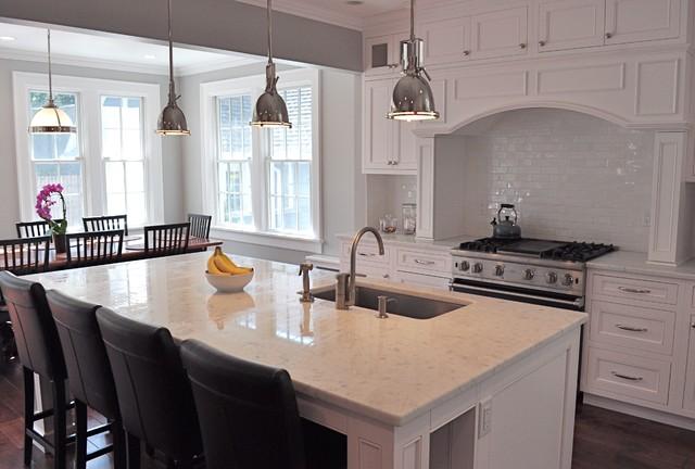 Kitchen Addition and Detached Garage traditional-kitchen