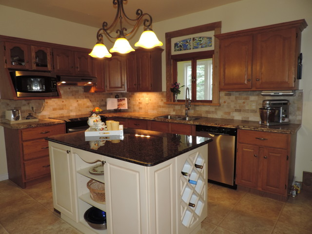 Kitchen After Home Staging Traditional Kitchen