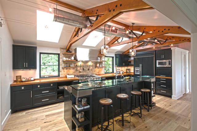 Kitchen After - Industrial - Kitchen - Austin - by Realty Restoration, LLC