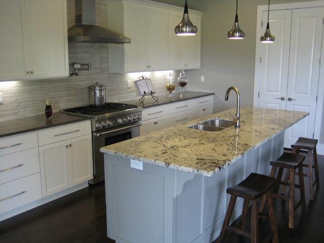 Kitchen Alaska White Granite
