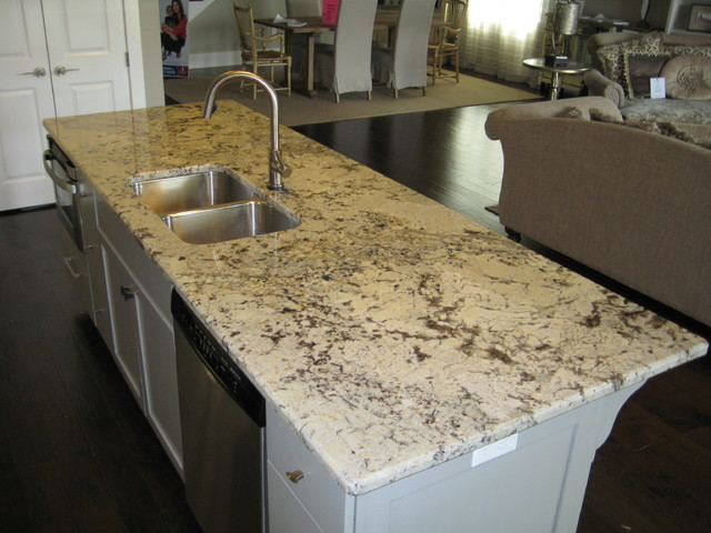 kitchen: alaska white granite - traditional - kitchen - new