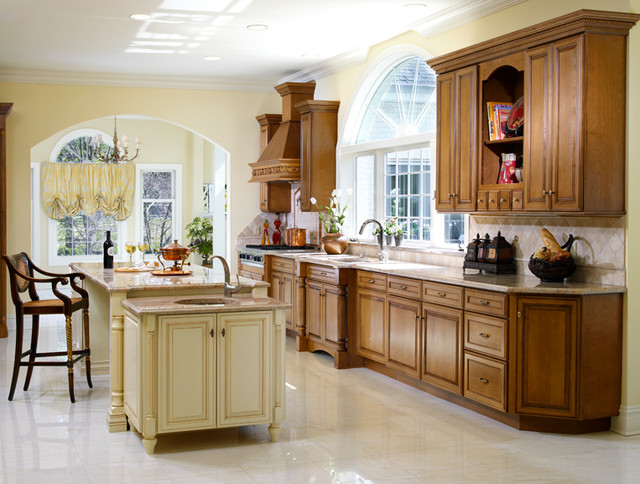 Kitchen Alteration with Large Window over Sink traditional-kitchen