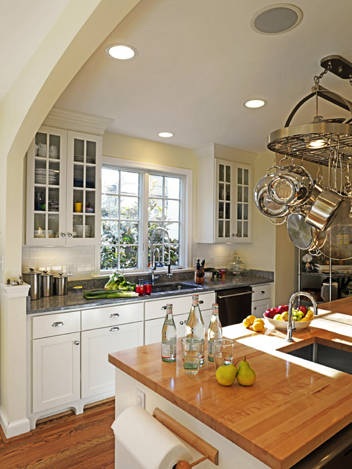 Pot Racks Artistically Keep Kitchen