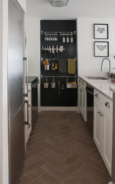 Kitchen and Bath Before/After contemporary-kitchen