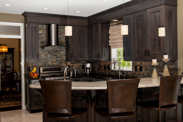 Kitchen bath cabinets for Custom modern kitchen cabinets