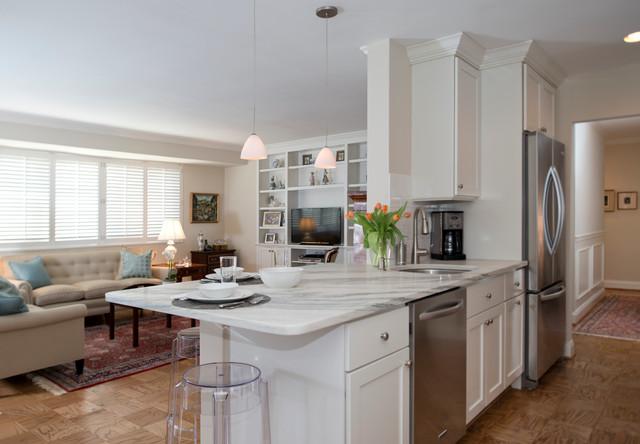 Kitchen & Bath - Chevy Chase, MD - 18072152 transitional-kitchen