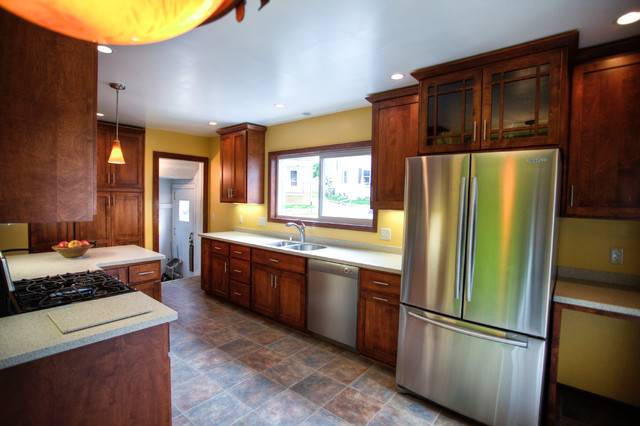 Kitchen and Bathroom Remodel | Atwood Ave, Madison, WI - Traditional ...