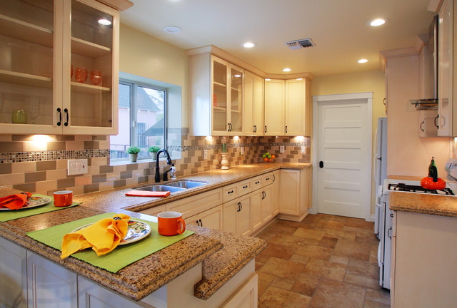 Kitchen And Bathroom Remodel In Los Angeles Traditional