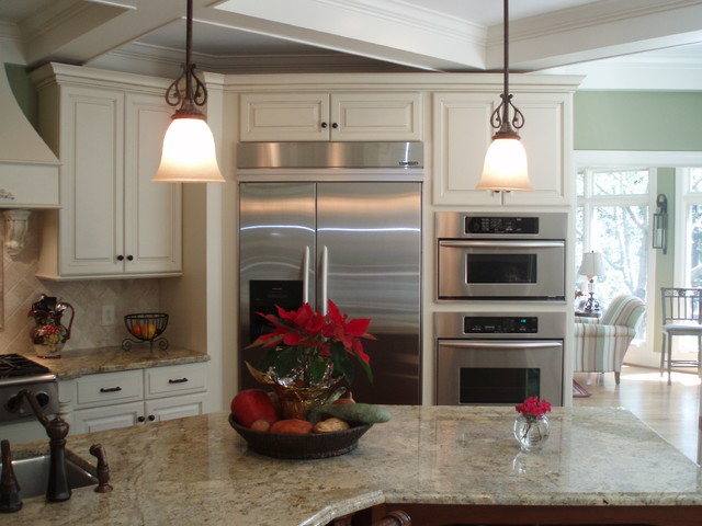 Kitchen and Bathroom Remodeling traditional-kitchen